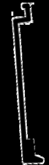 SJD4050D DOOR SEAL HINGE SIDE (TOP)