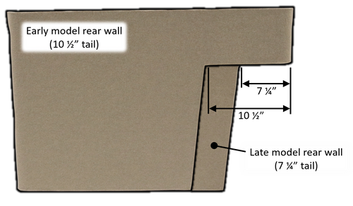 AGCH664L MIDDLE REAR WALL