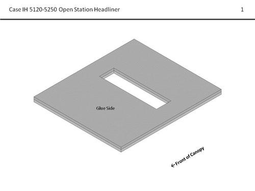 CIH 5120- 5250 OPEN STATION HEADLINER
