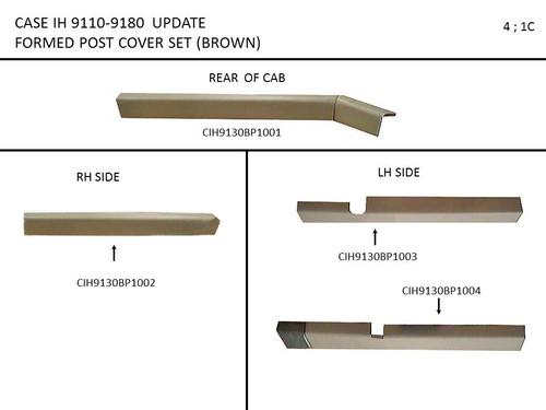 CIH 9110-9180 PROFORM POST SET (BROWN)