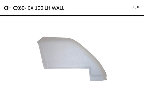 CIH CX60 - CX100  FORMED LH WALL ONLY