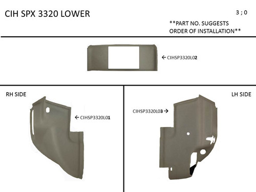 CIH  SPX 3320 LOWER