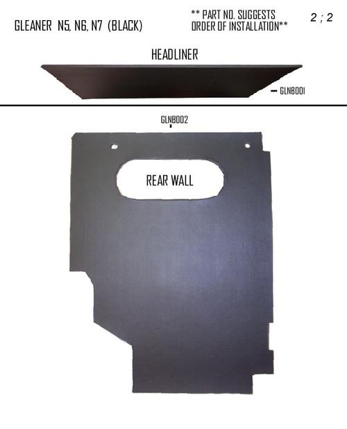 GLEANER N5 - N7 IN BLACK