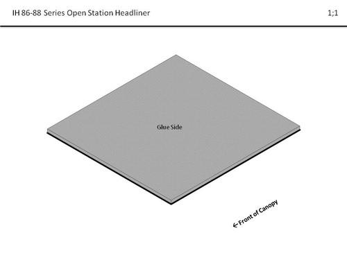 IH 86-88 SERIES OPEN STATION HEADLINER
