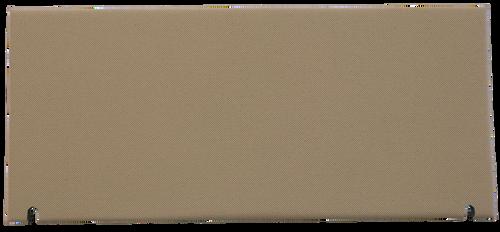 JD 4055-4960 AIR FILTER DOOR COVER (TAN)