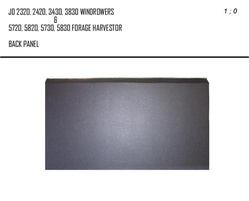JD 5720 F.H. & 2320 WDR.  BACK PANEL