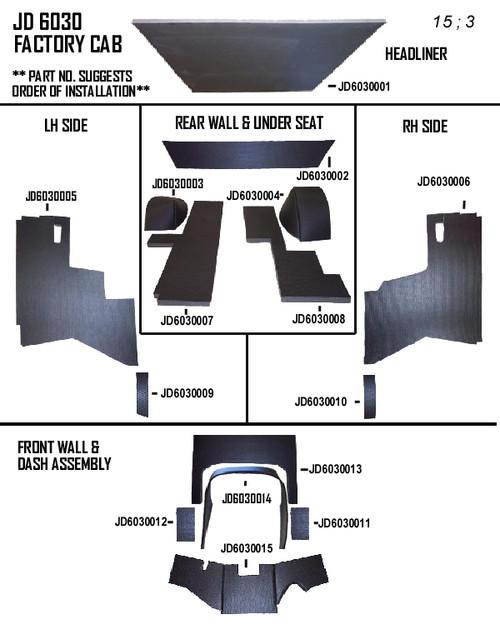 JOHN DEERE 6030 KIT (FACTORY/HINSON CAB)