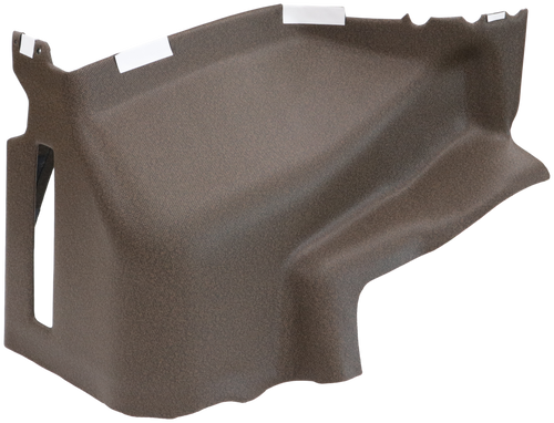 JD7720 RH CONSOLE (UPHOLSTERED BOTTOM SECTION)