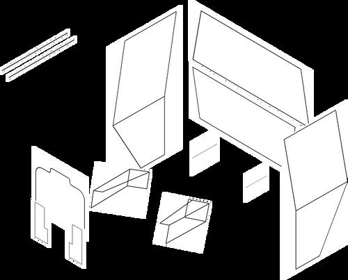 IH 766-1466  CUSTOM DIAMOND CAB SEAL KIT