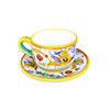 Milk Cup with Plate Raffaellesco