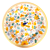 Dinner Plate Arabesco Giallo