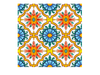 Half Flower Tile