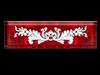 '600 Fondo Rosso Tile