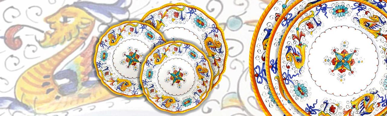 Raffaellesco Deruta ceramic of italy