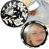 Ceramic handbag mirrors