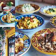 Deruta's ceramics in restaurants around the world