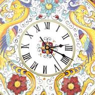 Unlock Italian Ceramic Clock