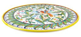 Pottery Pizza plate love birds