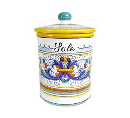 Pottery Salt Jar Fronte