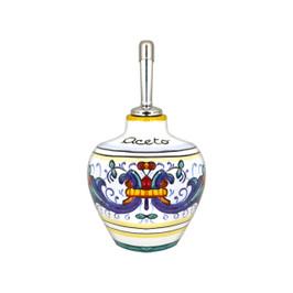 Ricco Deruta vinegar bottle pottery
