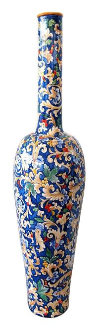 Italian Ceramic Vase Volute