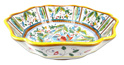 Squared Bowl Love Birds 13,5 In
