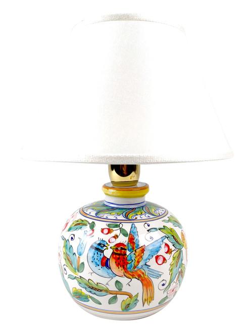Ceramic Abat Jour Love Birds (lampshade not included)
