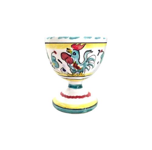 Italian ceramics Egg dish Orvietano