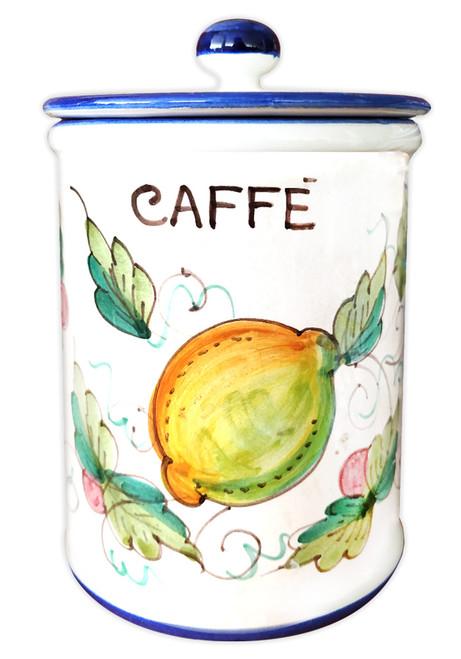 Coffe Jar Pottery Frutta Piena