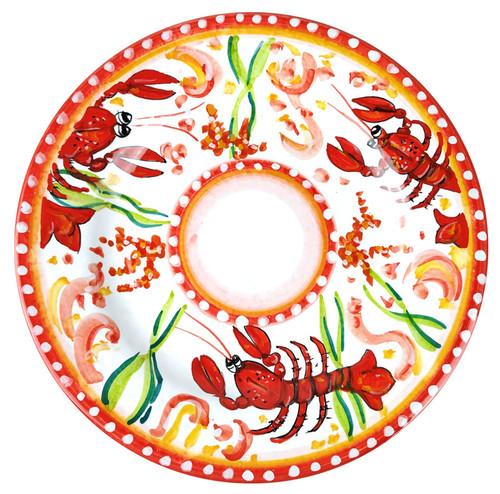 Italian ceramics Dinner plate Lobster