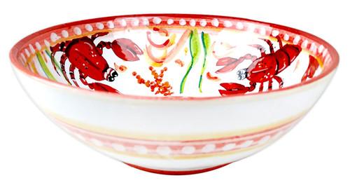 Italian ceramics bowl Lobster