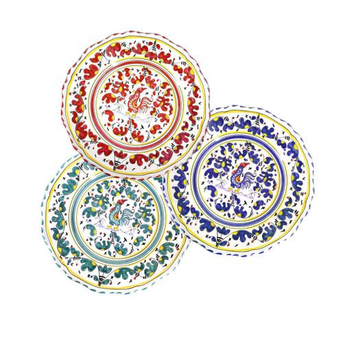 Pottery Salad plate Galletto