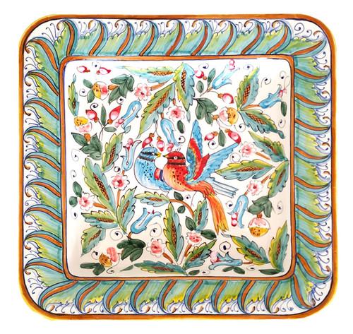 Pottery centerpiece Love Bird