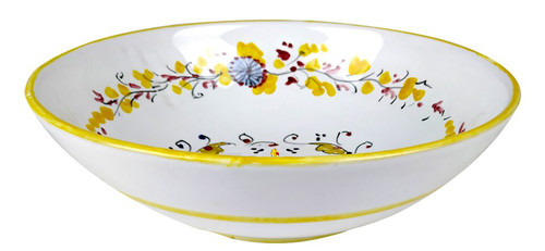 Bowl  Fiorellini Yellow 10.0 Inches