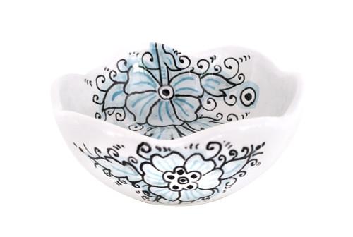 Deruta Ceramics bowl dew collection. 3.9 Inches