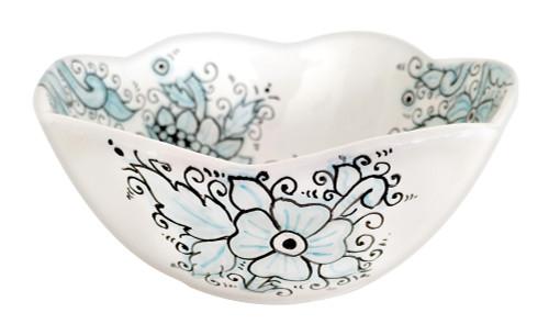 italian ceramic bowl dew collection 7 inches