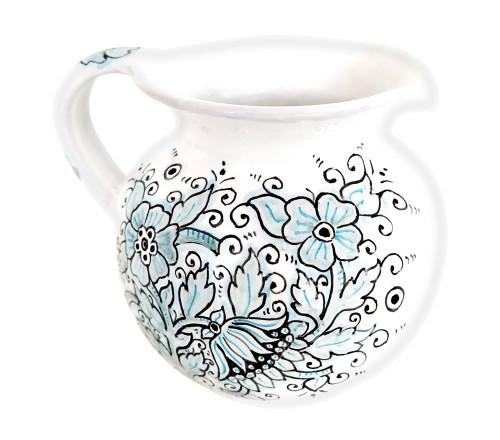 Deruta ceramics pottery pitcher dew collection 0,5 l