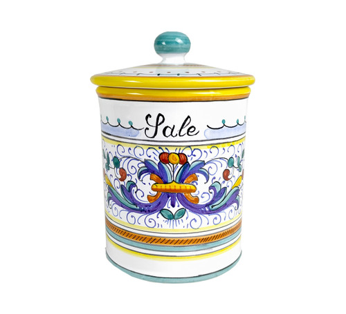 Pottery Salt Jar Fronte
