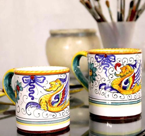 Deruta Mug Raffaellesco Classic and Original Handpainted