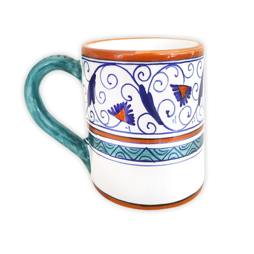 Deruta mug Penny Decoration Hand painted