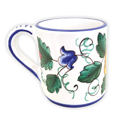 Deruta pottery mug Frutta Piena