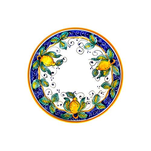 Salad or Dessert plate Alcantara by mod deruta italy