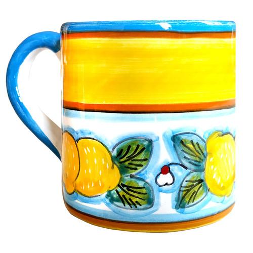 Deruta ceramic Mug Lemons