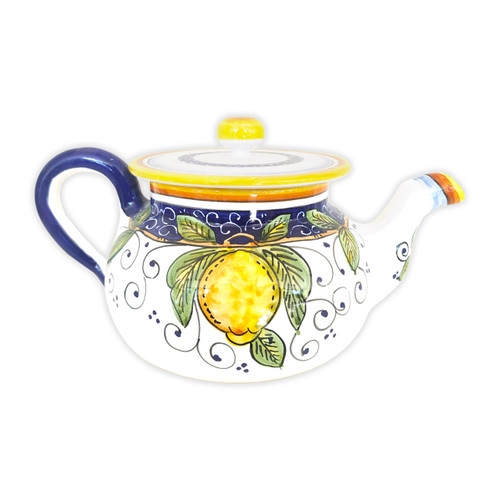 Teapot Alcantara, ceramic made in Italy
