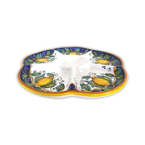 Deruta pottery appetizer Alcantara
