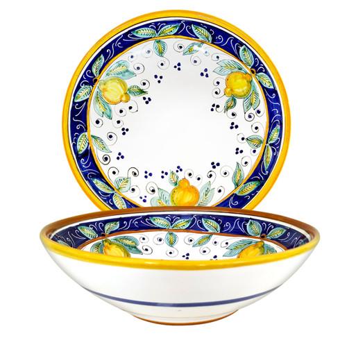 Pottery bowls Alcantara Deruta