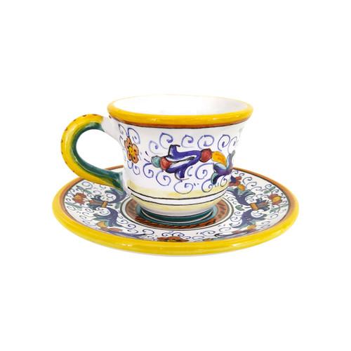 Ricco Deruta Coffe Cup, pottery