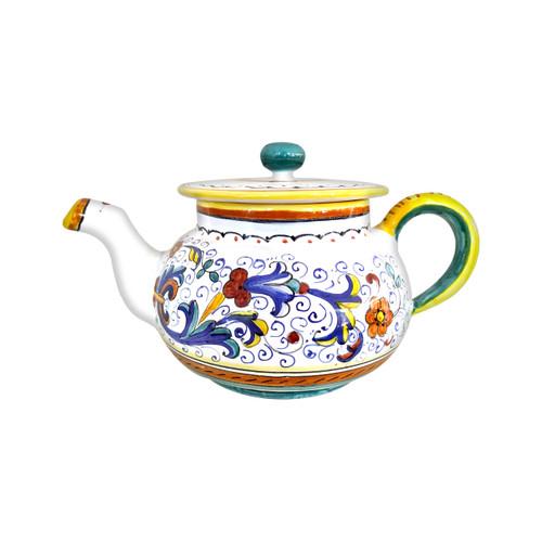 Ricco Deruta Teapot hand painted