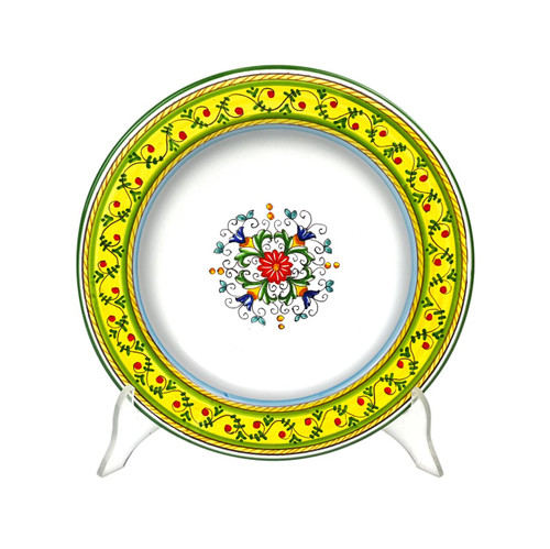 Pottery Store Of Tableware made in Italy. Pasta soup Plate Sara