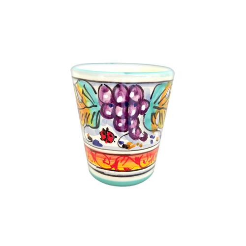 Deruta Limoncello cup Grapes